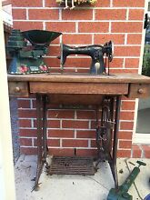 SINGER sewing table & other antiques Pakenham Cardinia Area Preview