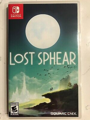 Lost Sphear Switch Nintendo Brand New Factory Sealed Fast Ship with Tracking