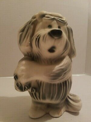 Ford Promo Bank Dog Mascot Vintage 50s Florence Ceramics Advertising Campaign
