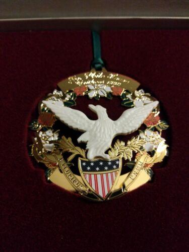 1998 White House Ornament Patriotic Christmas Tree Decoration