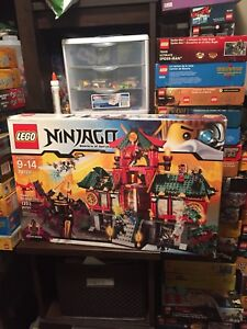 Lego ninjago complete sets, in box with books