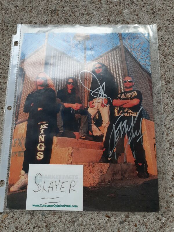 SLAYER / KERRY  KING AND MAYBE TOM