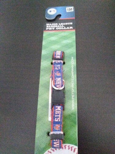 New York Mets Pet Collar Small