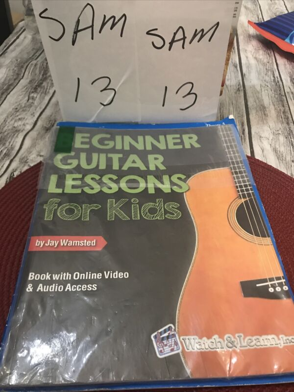 Beginner Guitar Lessons for Kids Book with Online Video & Audio
