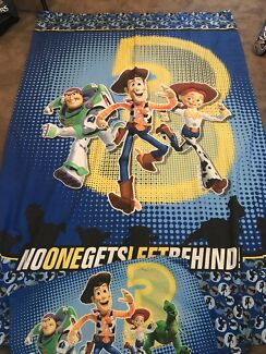 TOY STORY / KIDS SINGLE QUILT COVER