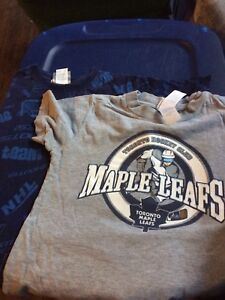 2 Toronto maple leaf tshirts