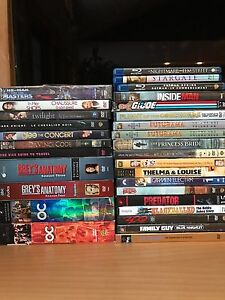 Assorted movies and tv series make an offer
