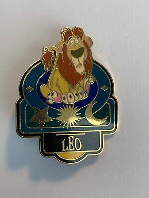 Signs Of The Zodiac Leo August Lion Disney Pin (B6)