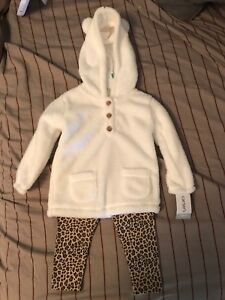 Girls 18 month sweatshirt & pants outfit