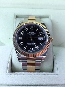 2015 Rolex date just 2 brand new condition