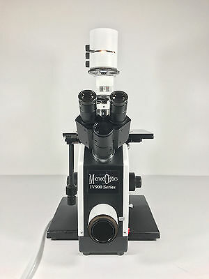 Microscoptics Iv900 Series Inverted Binocular Laboratory Microscope