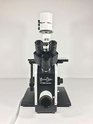 Microscoptics Iv900 Series Inverted Binocular Laboratory Microscope