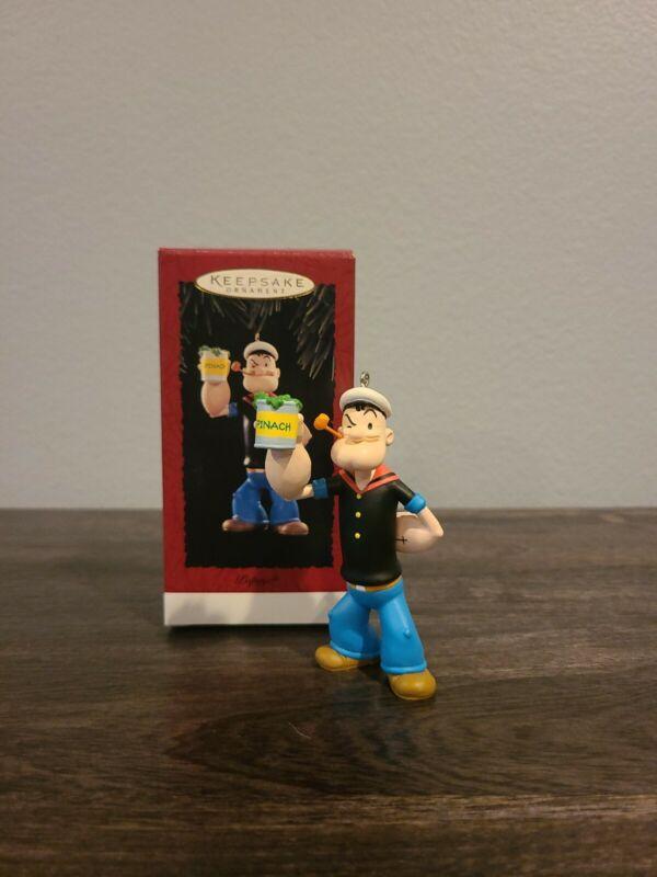 1994 Popeye  Hallmark Keepsake Ornament in Box QX5257 NEW