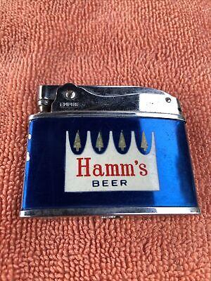 Rare Western Tree Hamm's  Beer Crown Logo Bar Sign California Empire Lighter