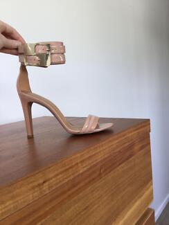 NINE WEST Estrilada Heel w/ Gold Buckle - Size 7 Alderley Brisbane North West Preview