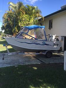 Ally Craft 4.75 Bar Raider / Priced to sell ! Clontarf Redcliffe Area Preview