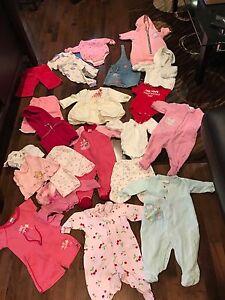 Box of 3-6mos girl clothes