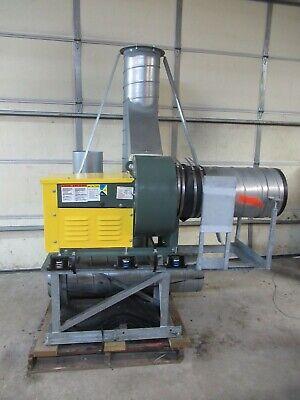 Nyb New York Blower Industrial General Purpose Acousta Foil Fan 1.5 Hp 123 Acf