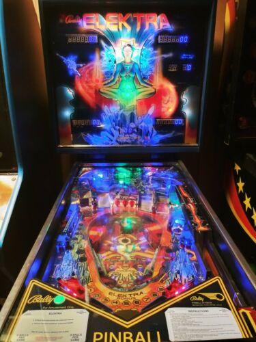 Bally Elektra pinball machine