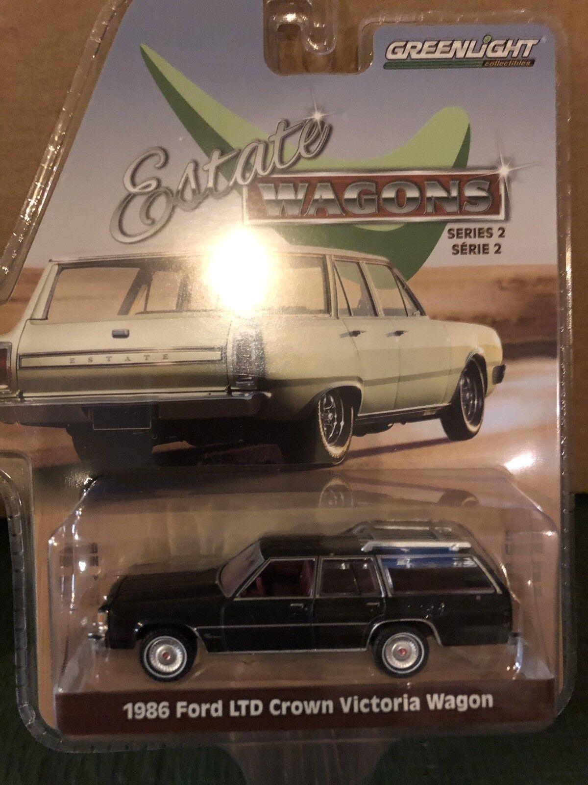 Greenlight Estate Wagons  1986 Ford LTD Crown Victoria stati