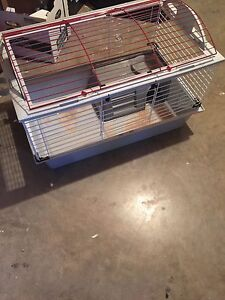 Small pet cage with extras