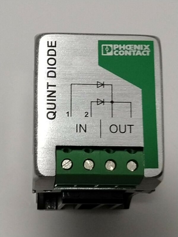 NEW PHOENIX CONTACT- QUINT-DIODE/40 POWER SUPPLY REDUNDANCY MODULE 2938963