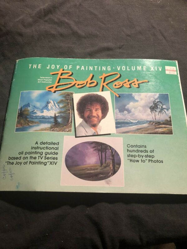 Experience The Joy of Painting with BOB ROSS Volume 14 (XIV) Instruction Book
