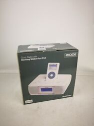 New iMode Clock Radio with iPod Docking Station iP200A