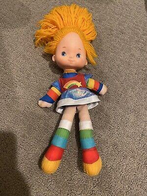 """1983 Rainbow Brite Doll Mattel/Hallmark 18"""" Doll"""