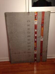 """1/2"""" concrete board"""