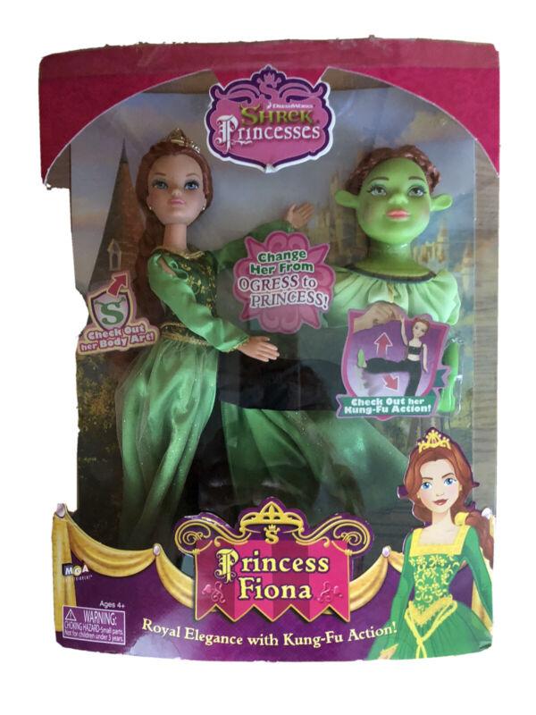 VERY RARE NEW MGA Dreamworks Shrek Kung-Fu Princess Fiona & Ogress Kicking Doll
