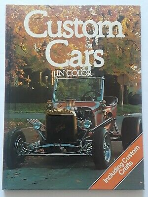 Custom Cars In Color - Richard Nicholls 64 Pages  1st printed 1980 Cathay Books ](Custom Coloring Pages)