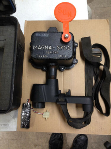 Sun Engineering Magna-SYGG 101 Pipeline Pig Detector, extra battery, Case, Mag