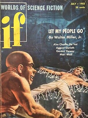 IF Worlds Of Science Fiction - July 1952 - Let My People Go - Walter Miller Jr.