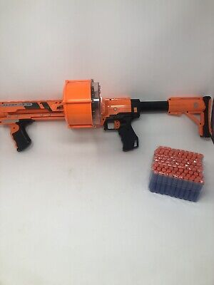 NERF Gun - GEAR UP Series RAIDER CS-35 - 25 Round Ammo Drum and 100 Foam Darts