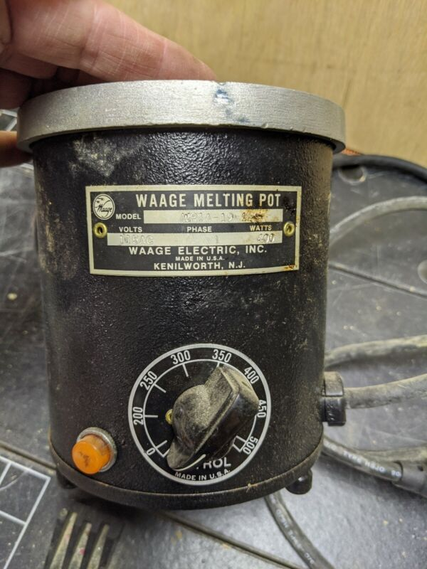 Waage Melting Pot  W1PA-19 115AC Phase 1 400 Watts