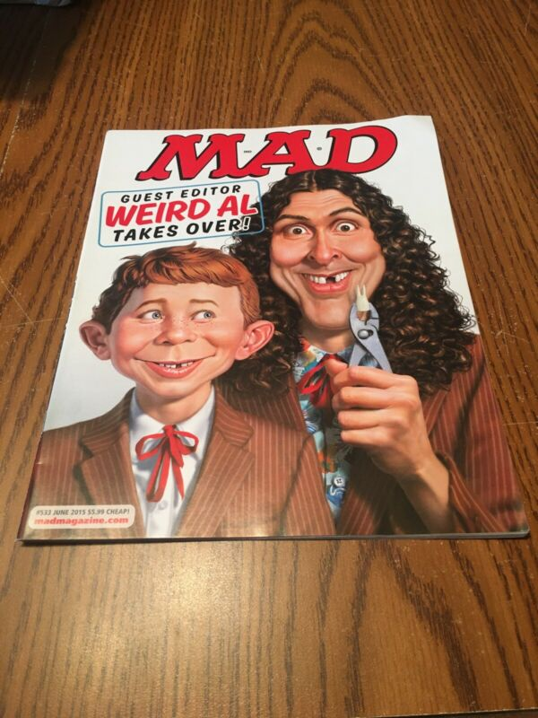 Vintage MAD MAGAZINE NO. 533 WEIRD AL   New RETAIL
