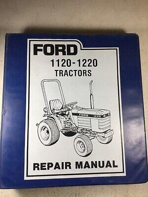 Ford 1120 1220 Tractors Service Repair Manual Original