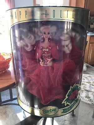Vintage Mattel 1993 Happy Holidays Special Edition Barbie Doll #10824 *NRFB