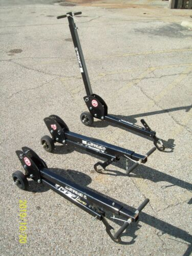 (1) MAG-MATE MCL2000W06 Manhole Cover Lift Dolly Steel