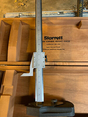 Starrett No. 254 20.5 Vernier Height Gage