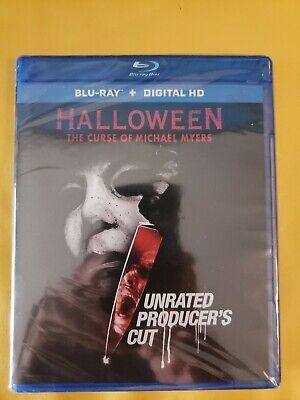 Halloween 6 Producers Cut (Halloween 6 Producers Cut Blu Ray NEW Micheal Myers Paul Rudd Donald Pleasence)