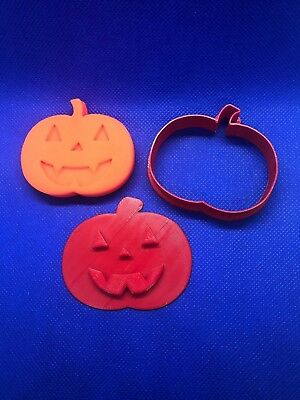 halloween Pumpkin cookie cutter or Plasticine, Play-doh cutter Trick or Treat