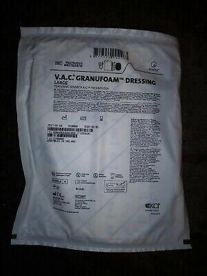 5 Pack V.a.c. Granufoam Dressing Large With Sensa T.r.a.c. Technology-- Sealed