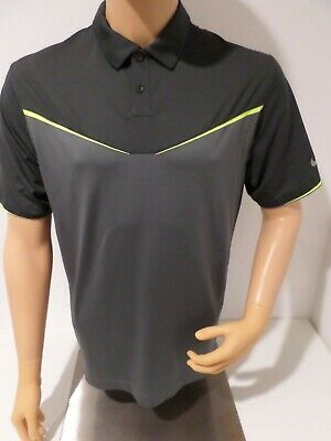 NIKE GOLF POLO - SZ MEDIUM - TOUR PERFORMANCE - INNOVATION COLOR BLOCK - GOOD