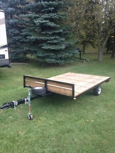 6' x 9' flat bed trailer