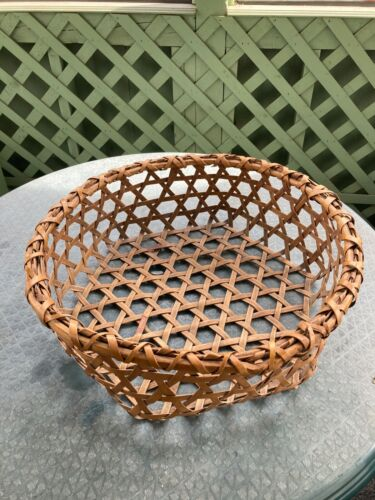 Antique Shaker Cheese Basket-  Origin: Darrow School Auction, New LebanonNY-1961