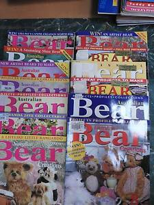 Bear Creations with patterns 13 magazines Riverglades Murray Bridge Area Preview