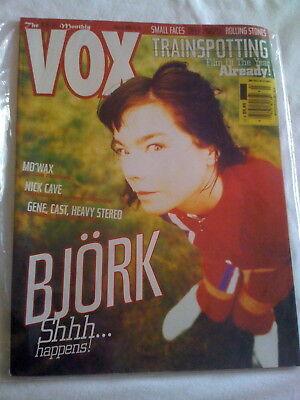 VOX Magazine March 1996 Bjork ToRi aMoS Small Faces Stones Transporting