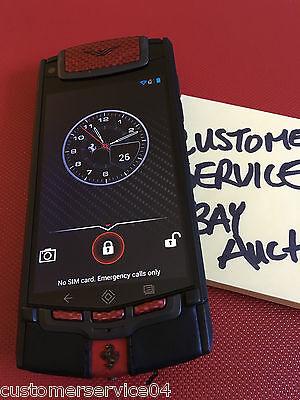 Genuine Vertu Android Ferrari Limited Edition Phone, Super RARE!! Collectors NEW